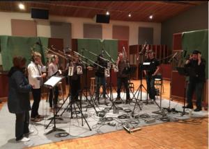 Christmas recording